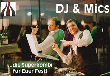 DJ & Mics - Hochzeitsmusik