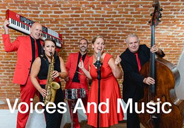 Voices & Music - Hochzeitsband