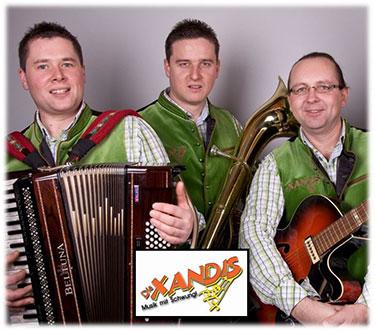 Die Xandis - Hochzeitsband